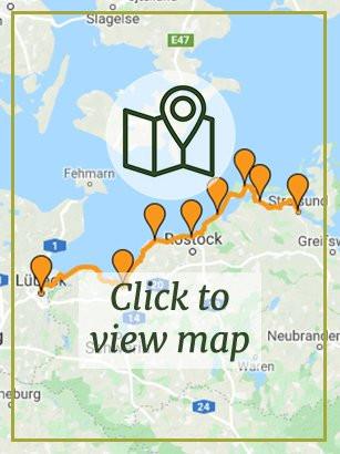 Lübeck to Stralsund - German Riviera
