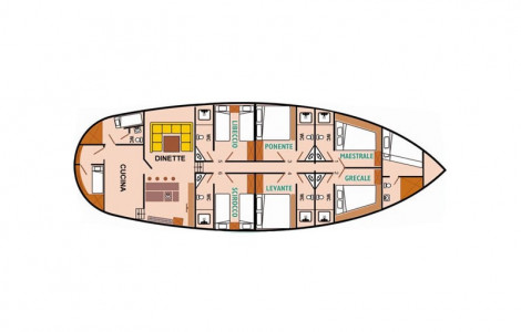 Deriya Deniz - Deckplan