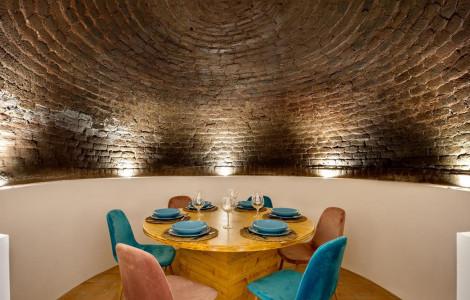 Dining Room - Former bread oven