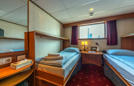MS Princess - Twin cabin