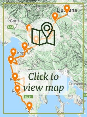 Slovenia's Capital to Croatia's Coast