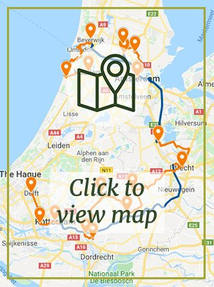 Cities & Countryside of Central Holland - Boat & Bike