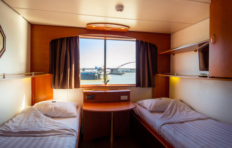 MS Olympia - Upper Deck Twin Cabin