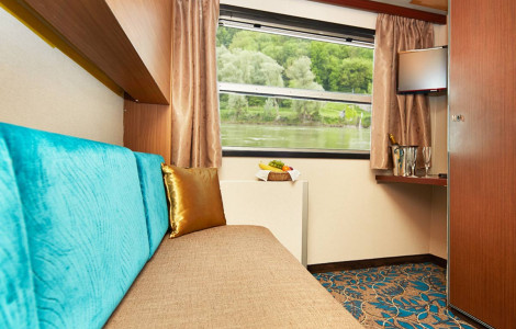 MS Theodor Korner - Twin Cabin (bunk-beds)